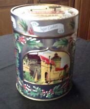Lambertz Aachen German Sugar Cookie Tin With Music Box Lid 2005