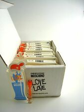 I LOVE LOVE Cheap & Chic for Women MOSCHINO EDT Vial Splash 0.05 oz ~ LOT of 50