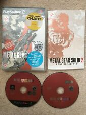 PS2 Game Metal Gear Solid 2- Sons Of Liberty