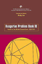 Hungarian Problem Book III by Mathematical Association of America (Paperback,...