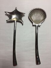 Stainless Shell Starfish Serving Spoon Nautical