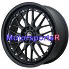 XXR 521 17 x 7 Flat Black Lip Mesh Rims Wheels 4x100 06 12 14 16 Mini Cooper S
