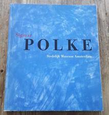 Sigmar Polke - Wim Beeren - Stedelijk museum - 1992 - Signed