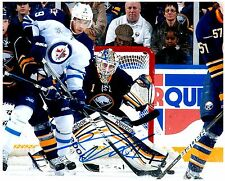 Buffalo Sabres JHONAS ENROTH Signed Autographed 8x10 Pic D
