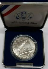 1987-P US Mint 200th Anniversary Constitution BU Silver $1 Coin