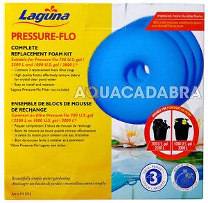 Laguna Pressure Flo 2500 3000 Filter Foam Kit Set PT1501 PF2500 PF3000 Fish Pond