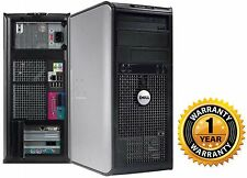 Lot of 2 Dell 760 TOWER PC COMPUTER DESKTOP Intel C2D  4GB 250GB NO OS