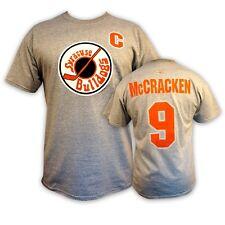 SlapShot movie Syracuse BULLDOGS #9 McCRACKEN T-shirt *Officially Licensed*