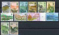 Tristan da Cunha MiNr. 162-73 postfrisch MNH Pflanzen (Blu482