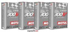 Aceite motor Motul 300v Chrono 10w40 8 litros (especial tuning Rally carreras)