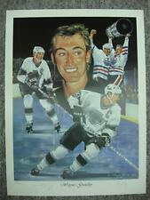 WAYNE GRETZKY AUTOGRAPHED ANGELO MARINO LITHOGRAPH ALSO SIGNED BY ARTIST 694/900