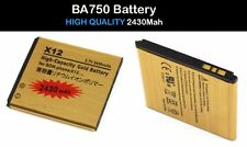 BA750 Battery Replacement 2430mAh For Sony Ericsson xperia Arc S LT15i LT18i ect