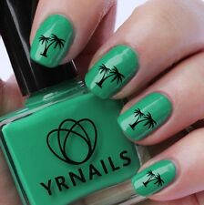Nail WRAPS Nail Art Water Transfers Decals - Exotic Palm Trees - S858