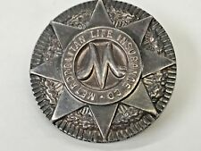 VINTAGE Tiffany & Co Sterling Metropolitan Life Insurance Faithful Service Pin
