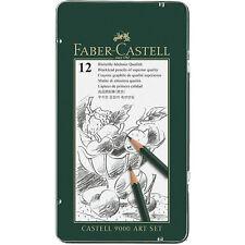 Faber-Castell-Castell 9000 Lápices Grafito-conjunto de arte-Lata De 12