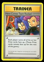 Pokemon HERE COMES TEAM ROCKET 113/108 - XY Evolutions - SECRET RARE - MINT