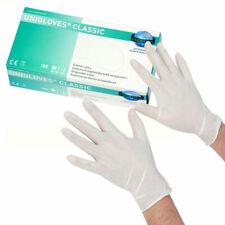 Nitrilhandschuhe Box 200 St/ück Einmalhandschuhe Unigloves wei/ß M