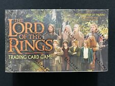 Lord of the Rings TCG The Fellowship of the Ring Booster Box - Factory Sealed