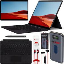 """Microsoft Surface Pro X 13"""" SQ1 8GB 256GB SSD WiFi 4G LTE + Keyboard Pen Kit BLK"""