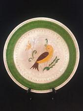 Giallo/Marrone Uccello Verde Bordato 12-1.3cm Diametro Piatto