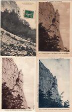 Lot 4 cartes postales anciennes DRÔME Vierge du Vercors 1