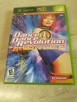 Dance Dance Revolution Ultramix 2 (Microsoft Xbox, 2004)
