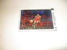 "MICHAEL JORDAN '19 BEAST MODE BULLS ""REFRACTOR"" CARD -MINT! -SEALED -NUMBERED!"