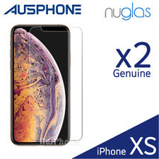 For iPhone X XS Max XR 8 7 6s 6 Plus 2X NUGLAS Tempered Glass Screen Protector