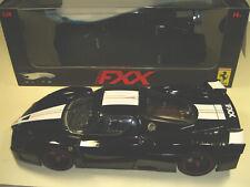 Hot Wheels ELITE Ferrari FXX Schwarz-Weiß 2005 1:18 #7398  Top-Zustand