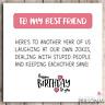 Funny Best Friends Birthday Card Bestie Joke Best Friend Card Humour Sarcastic