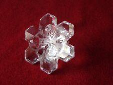 Swarovski crystal Snowflake candle holder (unboxed)