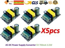 5pcs AC-DC 5V 700mA 3.5W AC 220V to 5V DC Step Down Power Supply Module
