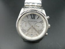 New Old Stock MICHAEL KORS Bradshaw MK5555 Chronograph SS Quartz Women Watch