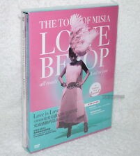 MISIA THE TOUR OF MISIA LOVE BEBOP all roads lead to you Taiwan Ltd DVD+CD+40P