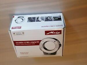 Metz MZ 15210 Macroslave 15MS-1 Macro Flash Digital Kit (Black)