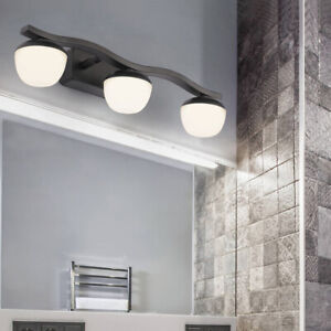 Modern LED Acrylic Bath Light Fixture Wall Sconce Mirror Front Lamp Living Room