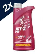 MANNOL 2x0.5L ATF-A/PSF POWER STEERING FLUID ALLISON C3 GM ATF-A Suffix A