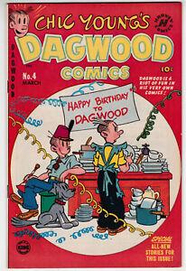 Dagwood Comics #4 Very Fine 8.0 Harvey Comics Chic Young 1951