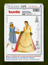 Empress & Washerwoman Costume Sewing Pattern~Medieval [Sizes 10-20] Burda 2479
