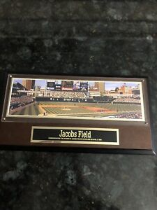 1995  #JACOB'S FIELD Commemorative Ltd. Ed. Plaque  By Sports Impressions