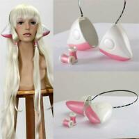 Chobits Eruda Chii Cosplay Prop Costume Ears Cute Kawaii Pink Headband VICT
