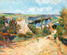 Entrance to the Village of Osny by Paul Gauguin 75cm x 61.3cm Art Print