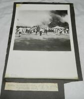 Vintage Photograph of 1944 Ringling Bros. Circus Fire, Hartford
