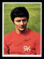 Zvecdan Cebinac Autogrammkarte Hannover 96 Spieler 60er Jahre Original Signiert