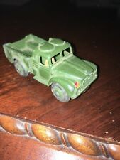 DINKY Meccano UK 1954 1 TON ARMY LORRY UK Military CARGO TRUCK #641 With Driver