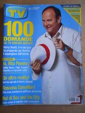 TV Sorrisi e Canzoni n°32 2004  Storia di Rita Pavone - Cancellieri Scotti [D53]