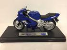 Triumph TT600 2002 Blau 1:18 Maßstab Welly 12177