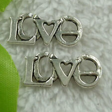 Free Ship 80 pieces tibet silver love connector 27x12mm #2780