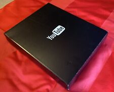 Genuine YouTube Silver Play Button 2016 BOX ONLY