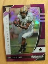 JARED PINKNEY 2020 PANINI PRIZM PURPLE PRIZM REFRACTOR ROOKIE RC FALCONS SP